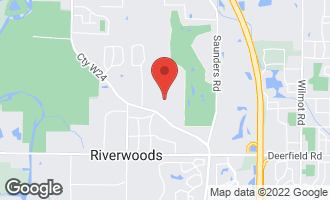 Map of 4 Kingswood Court RIVERWOODS, IL 60015