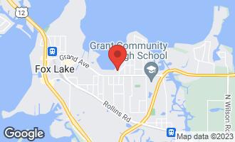 Map of 4 North Lake Avenue FOX LAKE, IL 60020