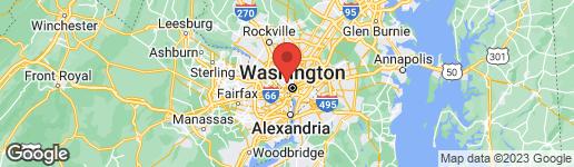 Map of 4 THOMPSON CIRCLE NW WASHINGTON, DC 20008