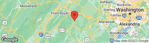 Map of 4 WINDSOR LODGE LANE FLINT HILL, VA 22627