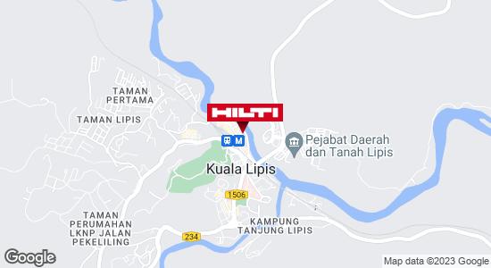Get directions to KUALA LIPIS