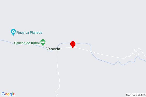 Google Map of 4.19472,-76.38279