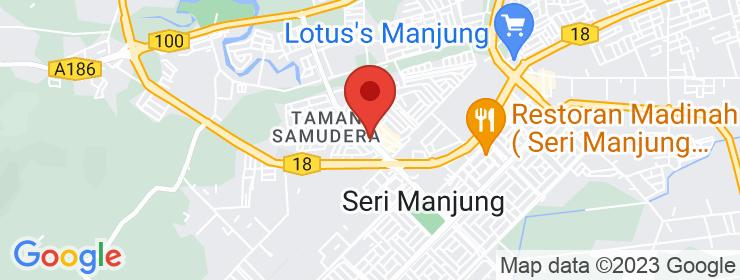 Map of Tempura Berempah | Bandar Manjung
