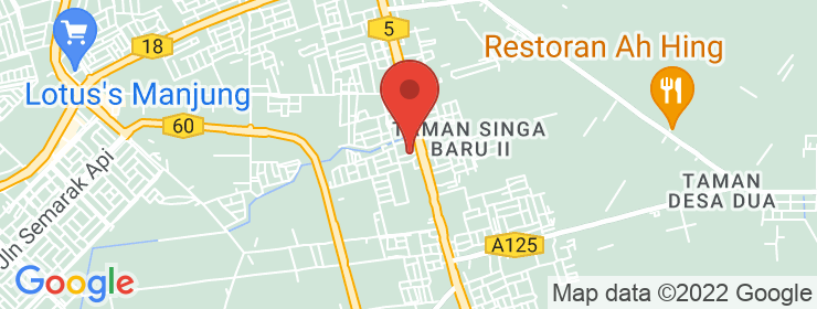 Map of Gautham Vege Spicy Home | Kg.Koh