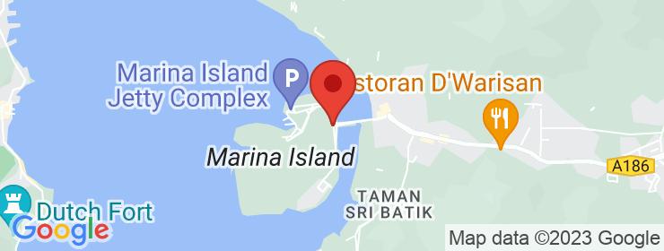 Map of Kafe Kaki Lepak | Marina Island