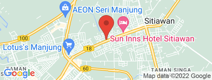 Map of Bamboo Briyani Garden | Sitiawan