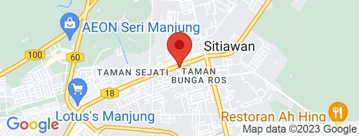 Map of Burger Leleh | Sitiawan