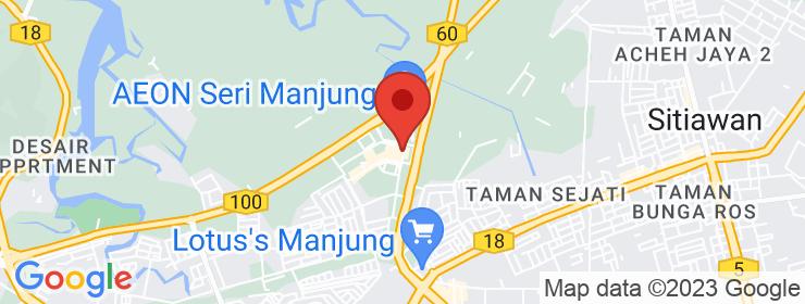 Map of The Baker's Hut | Bandar Manjung