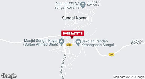 Get directions to SUNGAI KOYAN