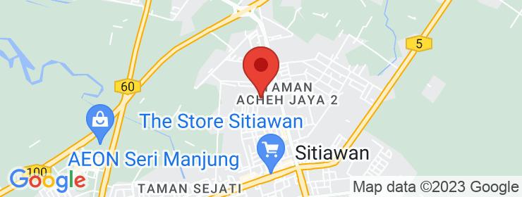 Map of Restaurant Selera Pachu