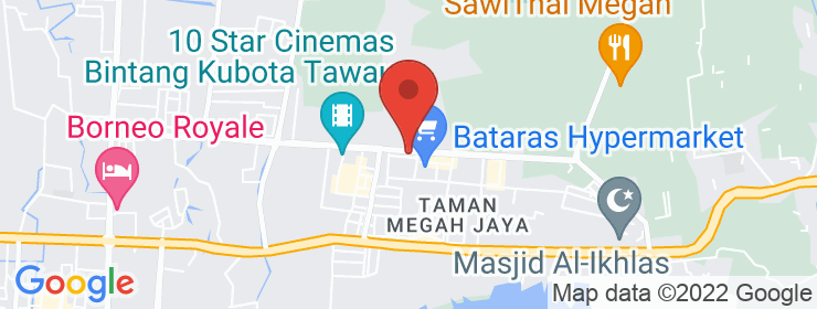 Map of Authentic Cafe | Tawau, Sabah
