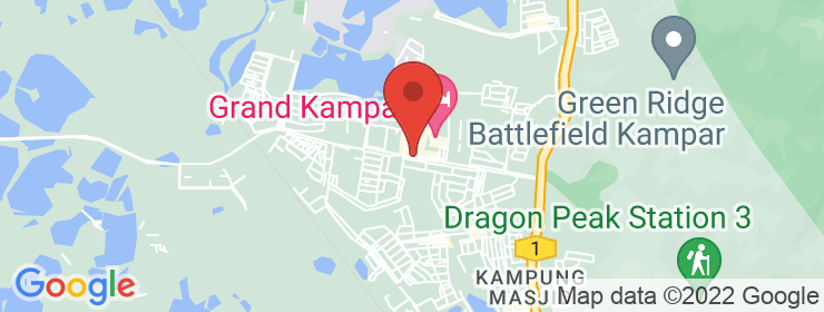 Map of Restoran Maha Maju | Kampar