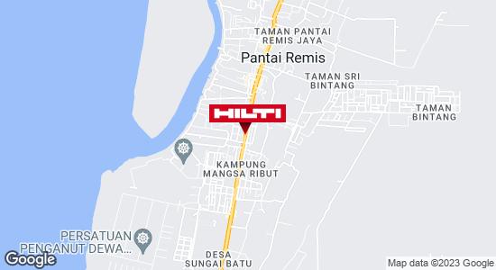 Get directions to PANTAI REMIS