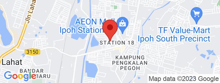 Map of Nasi Ayam Siti Khadijah   Ipoh