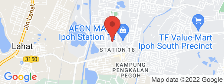 Map of Nan Station 18 | Ipoh