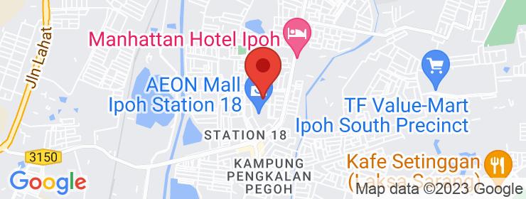 Map of Kopitiam Medan Stesen 18 | Ipoh