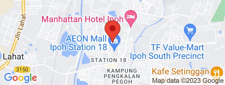 Map of Restoran Embun   Ipoh