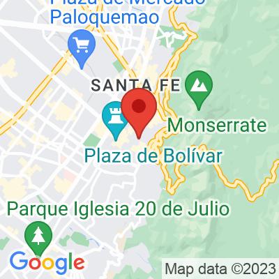 Map showing Azahar Café (Candelaria)