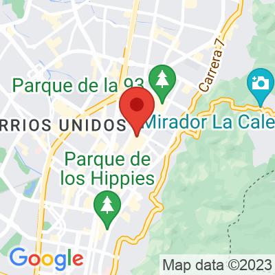 Map showing Colo Coffee (Quinta Camacho)