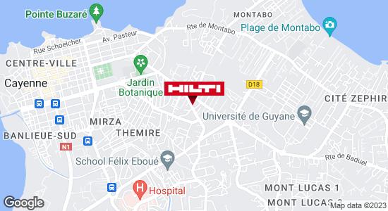 Espace Hilti - Dom-Tom Ets Le Gac Matériaux Kourou - Guyane