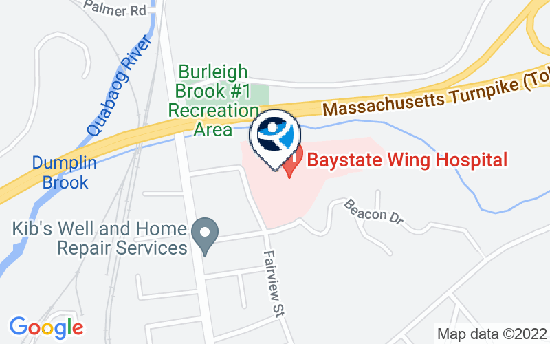 Baystate Behavioral Health Location and Directions