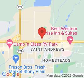 Google Map of 40+Boulder+Blvd%2CStony+Plain%2CAlberta+T7Z+1V7