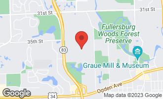 Map of 40 Breakenridge Farm OAK BROOK, IL 60523