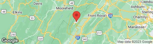 Map of 40 DALE DRIVE MOUNT JACKSON, VA 22842