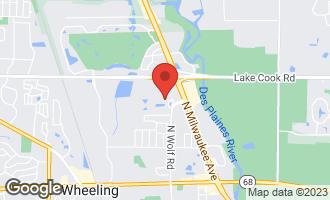Map of 40 Prairie Park Drive #205 WHEELING, IL 60090