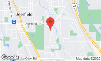 Map of 40 Revere Court Deerfield, IL 60015