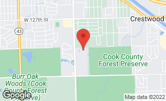 Map of 40 Shadow Creek Circle PALOS HEIGHTS, IL 60463