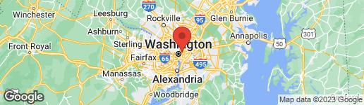 Map of 40 U STREET NW WASHINGTON, DC 20001