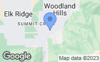 Map of Woodland Hills, UT
