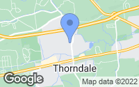 Map of Thorndale, PA