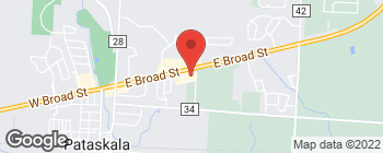 Map of 9000 Broad St SW in Pataskala