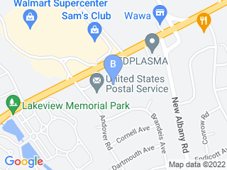 Map of Cinnaminson Animal Hospital Dog Boarding options in Cinnaminson | Boarding