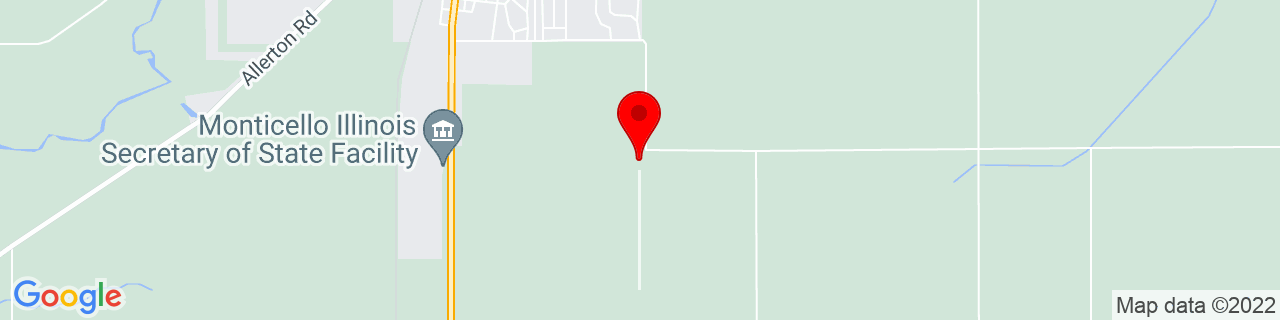Google Map of 40.0098308, -88.5586452