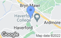 Map of Haverford, PA
