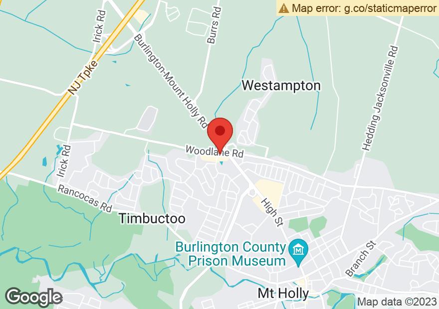 Google Map of 800 WOODLANE RD