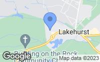 Map of Lakehurst, NJ