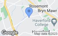 Map of Bryn Mawr, PA
