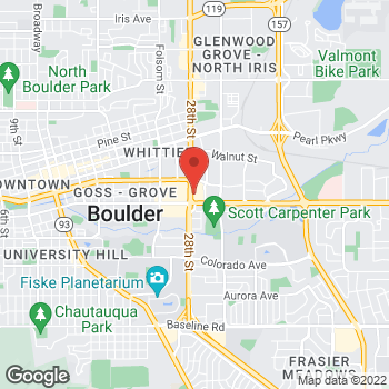 Map of Noodles & Company at 1600 28th St, Boulder, CO 80301