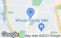 Map of Upper Arlington, OH