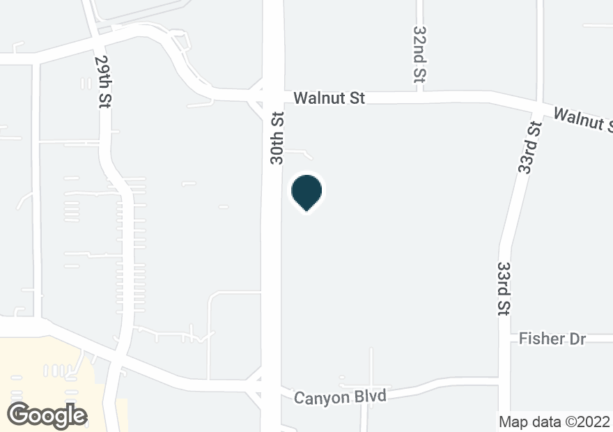 Google Map of1830 30TH ST