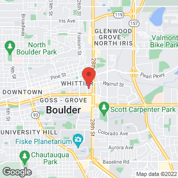Map of Bed Bath & Beyond at 1741 28th Street, Boulder, CO 80301