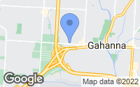 Map of Gahanna, OH