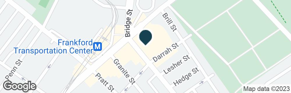Google Map of1607 BRIDGE ST
