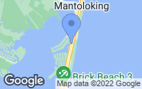 Map of Mantoloking, NJ