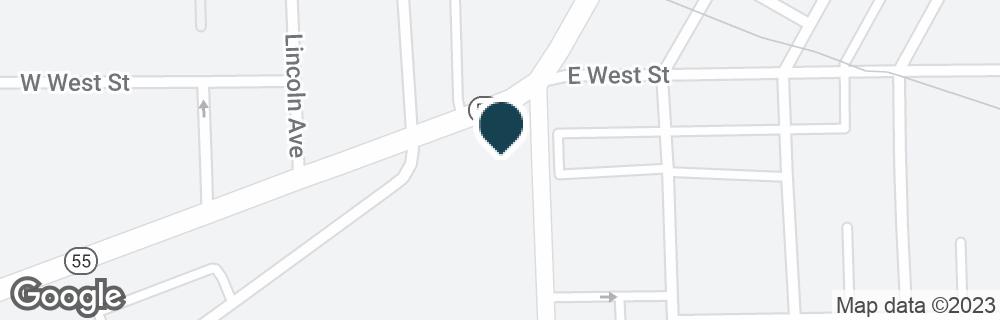 Google Map of20 W MARKET ST