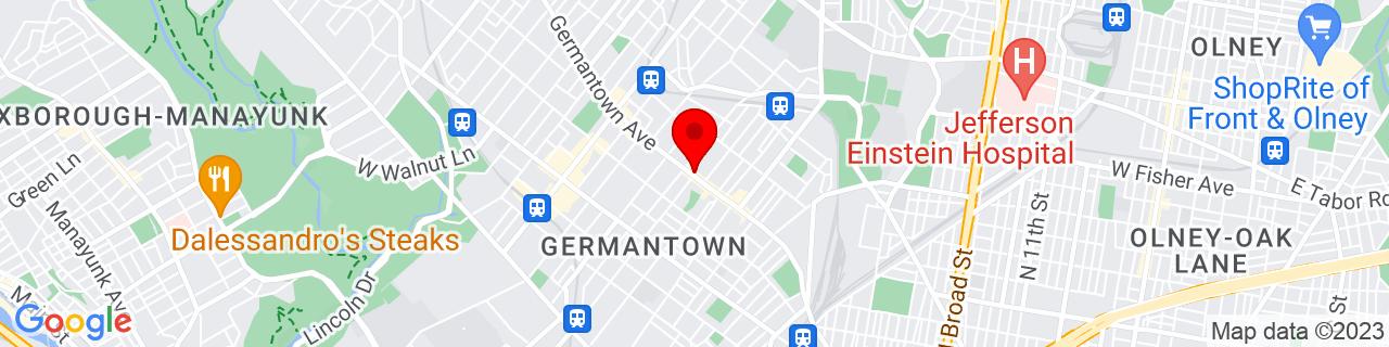 Google Map of 40.0320577, -75.1684466
